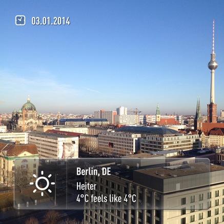 Bekjente Berlin Morgen
